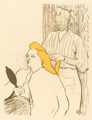 The Hairdresser - Program for the Théâtre Libre (Le coiffeur - Programme du Théâtre Libre)