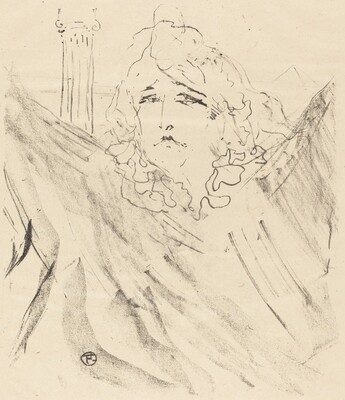 Sarah Bernhardt in Cleopatra (Sarah Bernhardt dans Cléopatre)