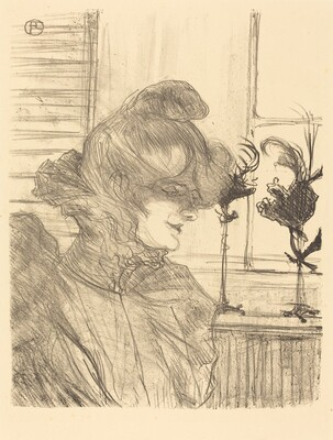 Mme. Le Marguoin, Milliner  (Mme. Le Marguoin, modiste)