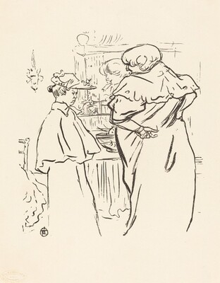 Two Women before a Mirror