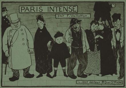 Album Cover for Paris Intense