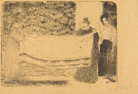 Folding the Linen (Le pliage du linge)