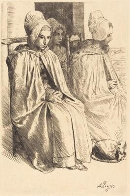 Peasant Women of Boulogne (Paysannes des environs de Boulogne)