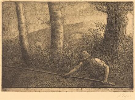 Fisherman with a Hoop-net (La peche a la truble)