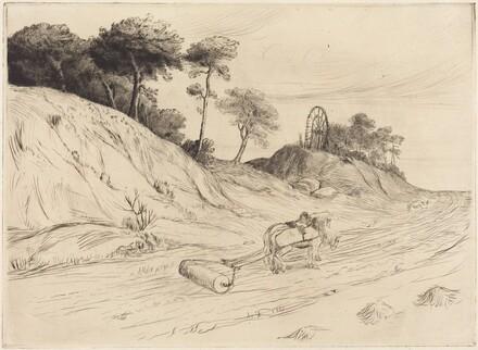 Landscape with Roller (Le paysage au rouleau)