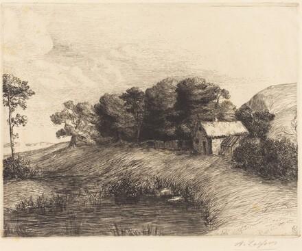 Landscape with Pond (Le paysage a la mare)