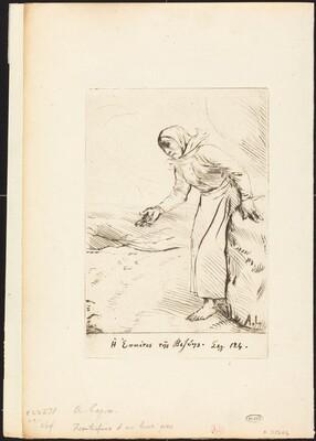 Frontispiece (The Beggar Woman of Veze)