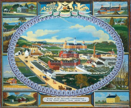 Berks County Almshouse, 1878