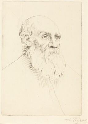 Head of an Old Man (Etude de tete)