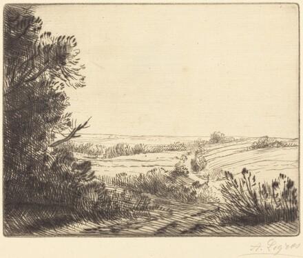 Landscape: Road to Horville (Paysage: Chemin d'Horville)