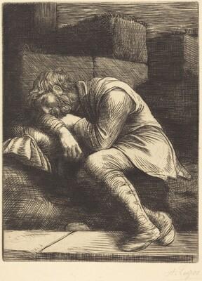 Sleeping Beggar (Mendiant endormi)
