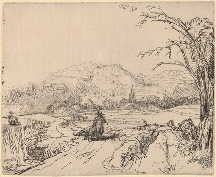 Landscape with Sportsman and Dog