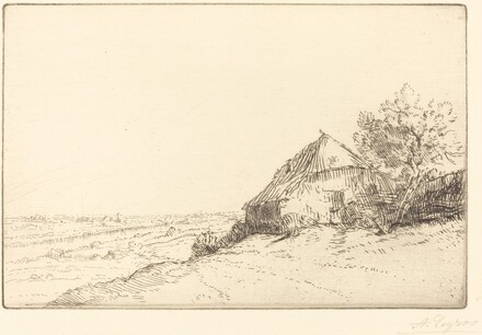 Hovel on a Hillside (Masure sur la colline)