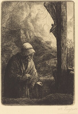Woman at the Foot of the Cross (Femme au calvaire)