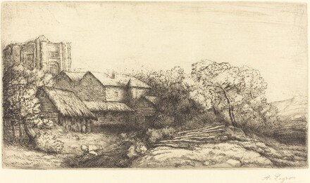 Farm at the Monastery (La ferme de l'abbaye)