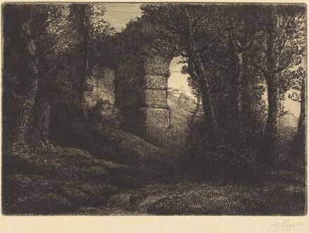 Ruins of an Ancient Aqueduct (Ruine d'un ancien aqueduc)