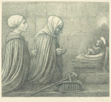 The Manger (La creche)
