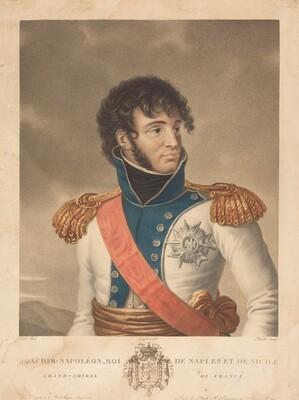 Joachim Murat (Joachim-Napoleon, Roi de Naples et de Sicile, Grand-Admiral de France)