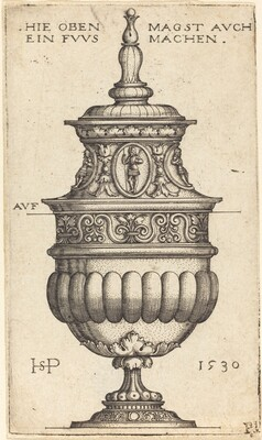 Double Goblet with Oval Medallions