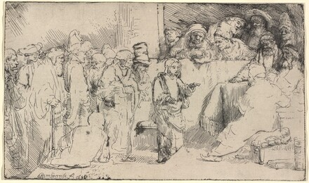 Christ Disputing with the Doctors: a Sketch