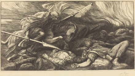 The Triumph of Death: After the Battle (Le triomphe de la mort: Apres le combat)