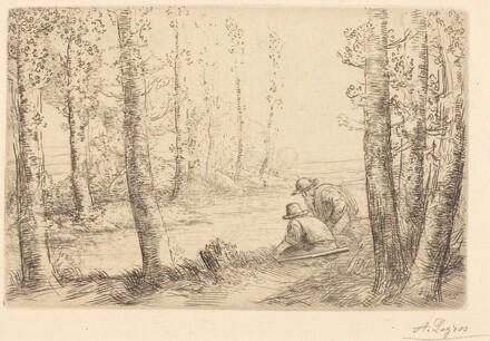 Rest along the Banks of the River (Repos au bord de la riviere)