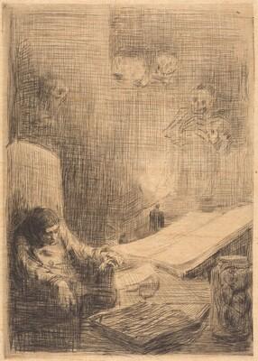 Sleeping Scholar (Le savant endormi)