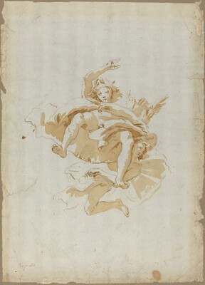 Drawing for a Ceiling Fresco
