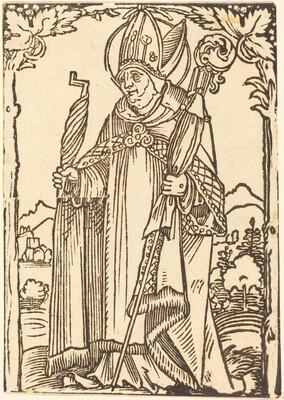 Saint Erasmus as Bishop