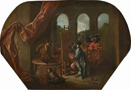 Singerie: The Painter