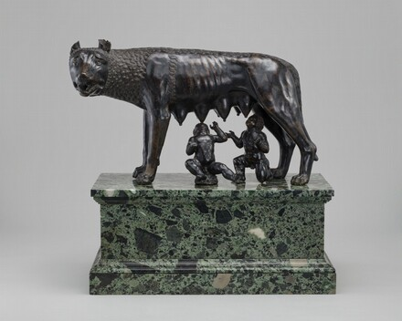 The Capitoline Wolf Suckling Romulus and Remus