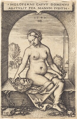 Judith Sitting in a Window