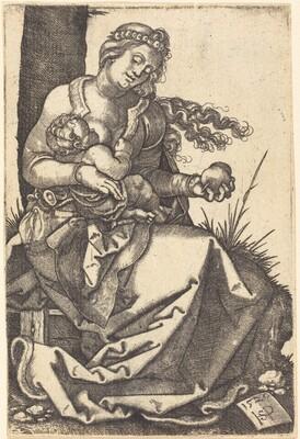 Virgin with a Pear