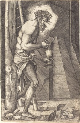 The Man of Sorrows at the Foot of the Cross