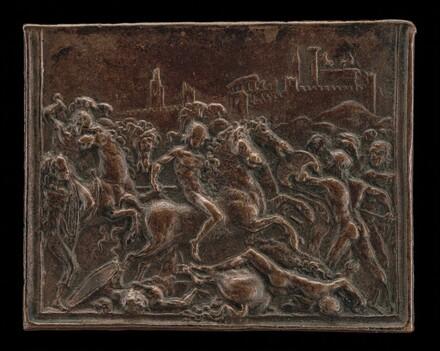 Coriolanus in Battle Before Rome