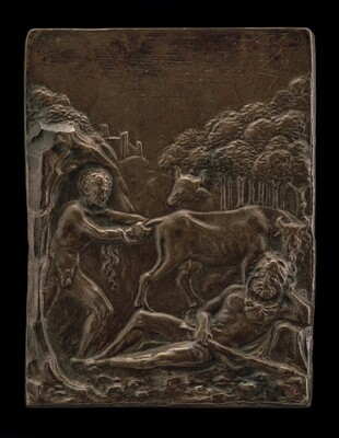 Cacus Stealing the Cattle of Geryon from Hercules