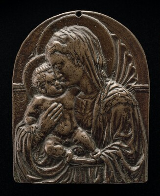 Madonna and Child before a Niche