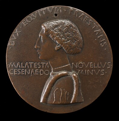 Domenico Novello Malatesta, 1418-1465, Lord of Cesena and Cervia 1429 [obverse]