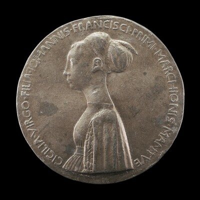Cecilia Gonzaga, 1426-1451, daughter of Gianfrancesco I [obverse]