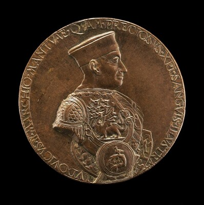 Lodovico III Gonzaga, 1414-1478, 2nd Marquess of Mantua 1444 [obverse]