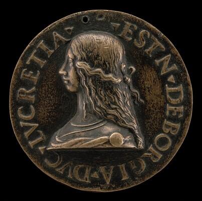 Lucrezia Borgia, 1480-1519, Wife of Alfonso d'Este of Ferrara 1502