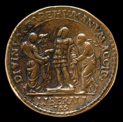 The Marquess Giving Alms [reverse]
