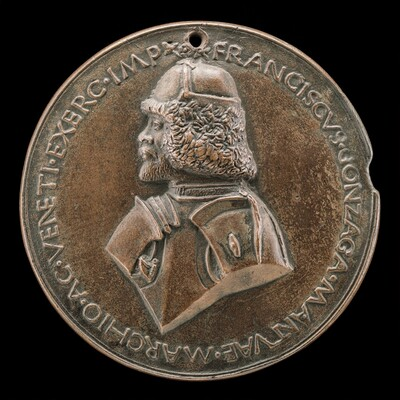 Francesco II Gonzaga, 1466-1519, 4th Marquess of Mantua 1484 [obverse]