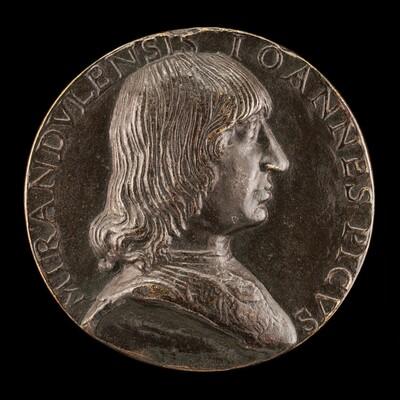 Giovanni Pico della Mirandola, 1463-1494, Philosopher and Poet [obverse]