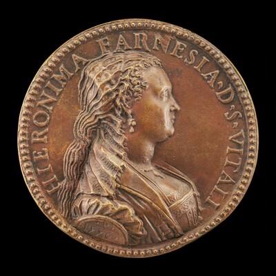 Girolama Farnese, Daughter of Galeazzo Farnese, Wife of Alfonso San Vitale, Widowed 1560