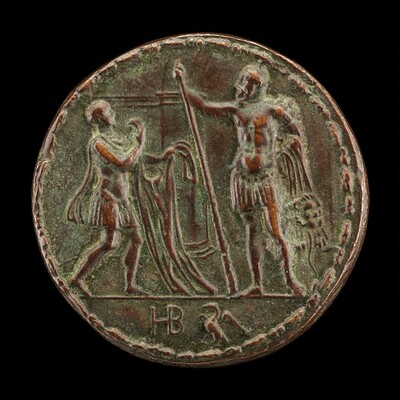 A Messenger Brings Hercules the Shirt of Nessus [reverse]