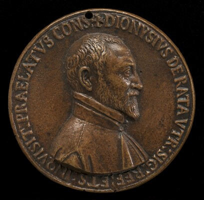 Dionisio Ratta of Bologna, died 1597 [obverse]