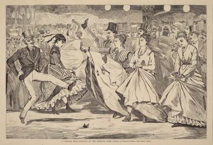 A Parisian Ball - Dancing at the Mabille, Paris