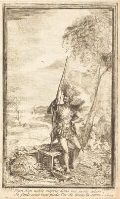 Frontispiece: Allegorical Composition (Composition allegorique)