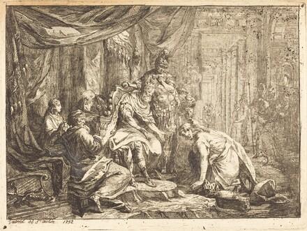 Reconciliation of Abraham and David (Reconciliation d'Absalom et de David)